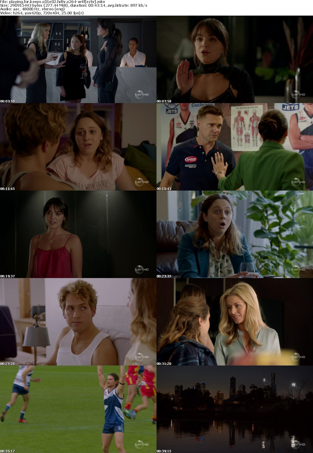 Playing for Keeps S01E02 HDTV x264-W4F