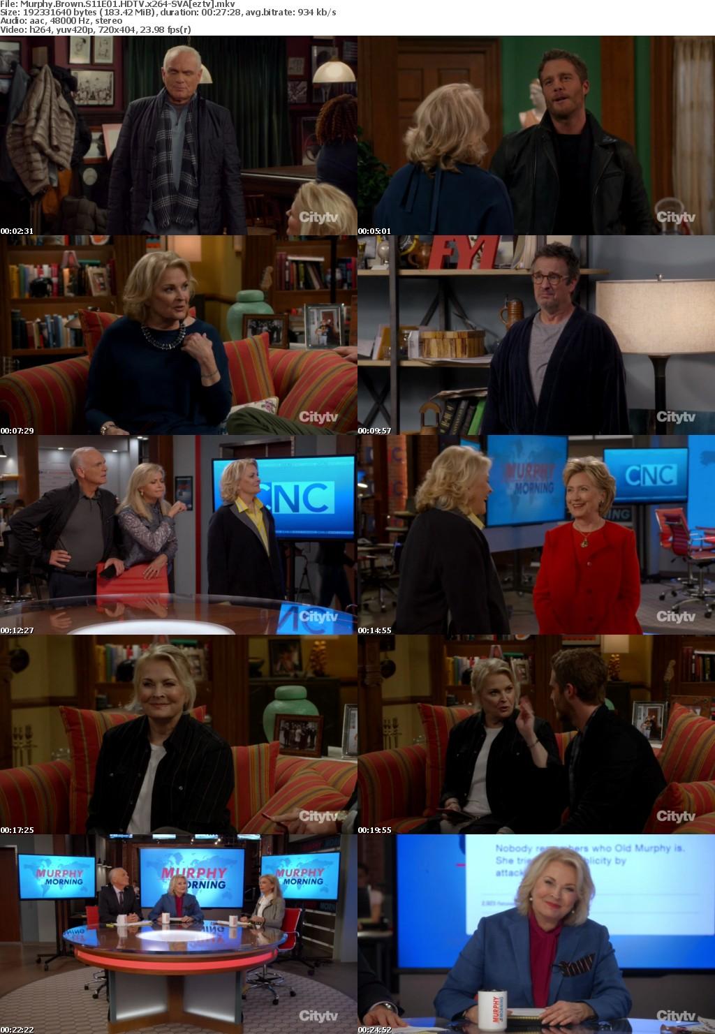Murphy Brown S11E01 HDTV x264-SVA