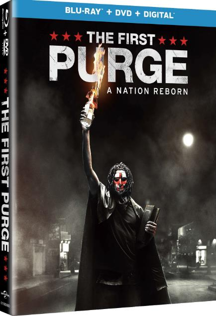 The First Purge 2018 720p BRRip X264 AC3-EVO