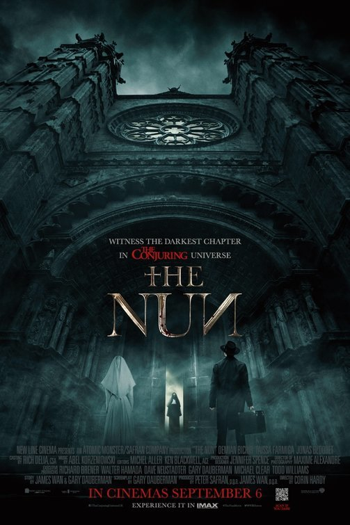 The Nun 2018 NEW 720p HDCAM x264 Dual Audio Hindi - English MW