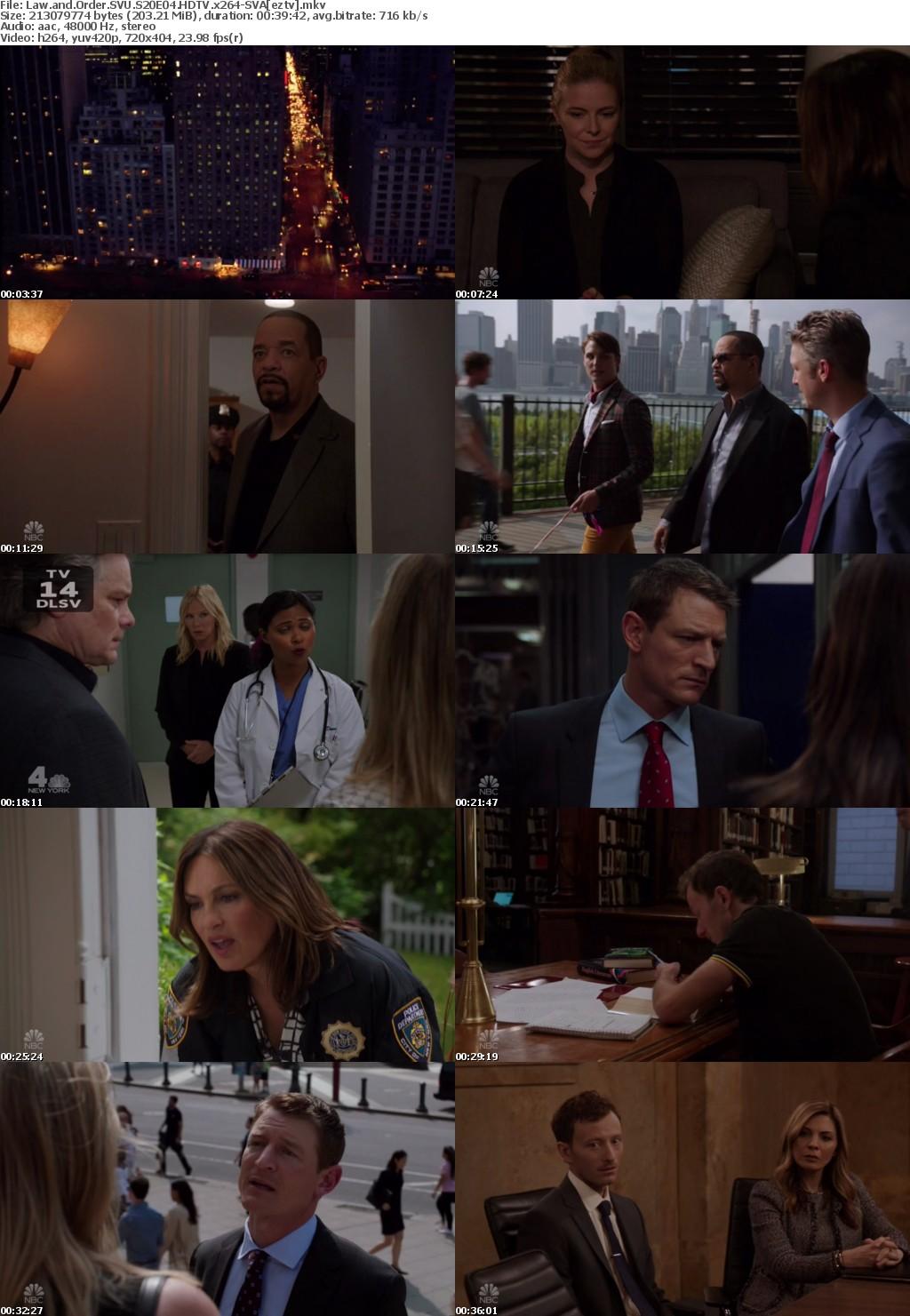 Law and Order SVU S20E04 HDTV x264-SVA