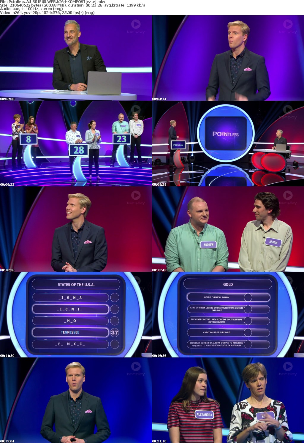 Pointless AU S01E60 WEB h264-KOMPOST
