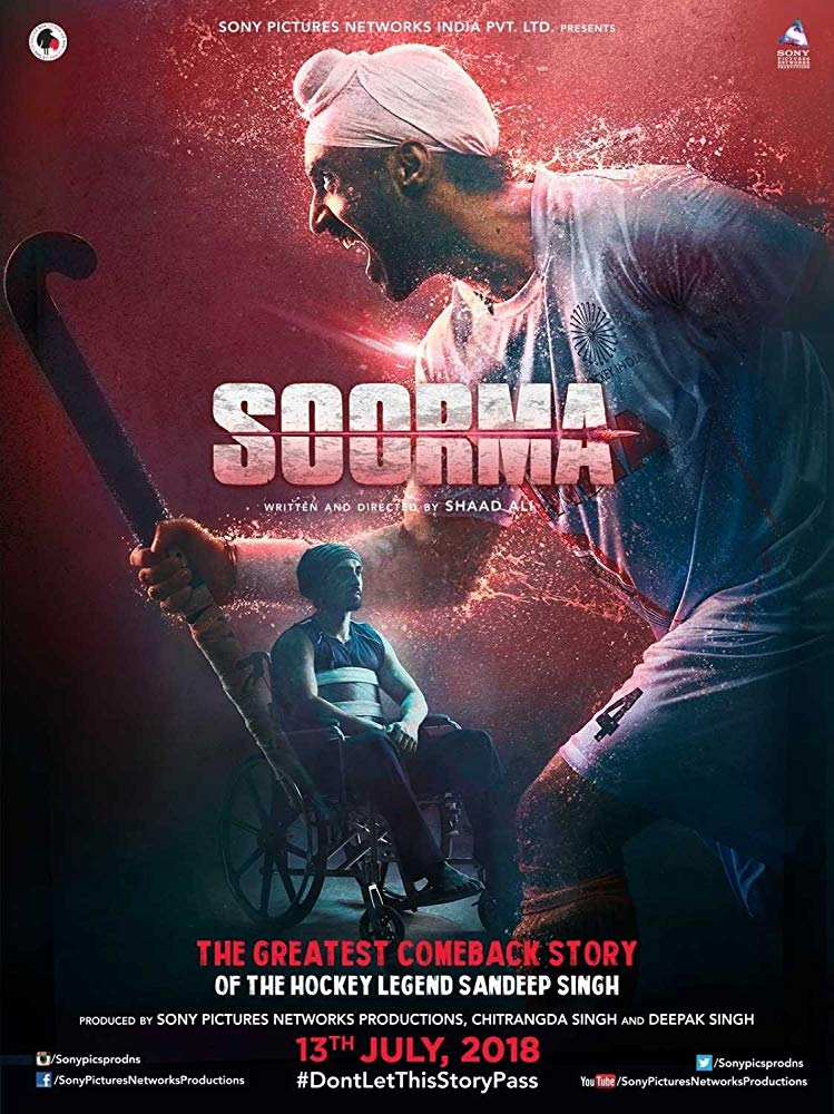 Soorma 2018 Hindi 720p NF WEBRip x264 AAC 2 0 - xRG