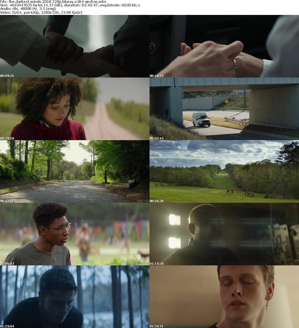 The Darkest Minds (2018) 720p BluRay x264-GECKOS