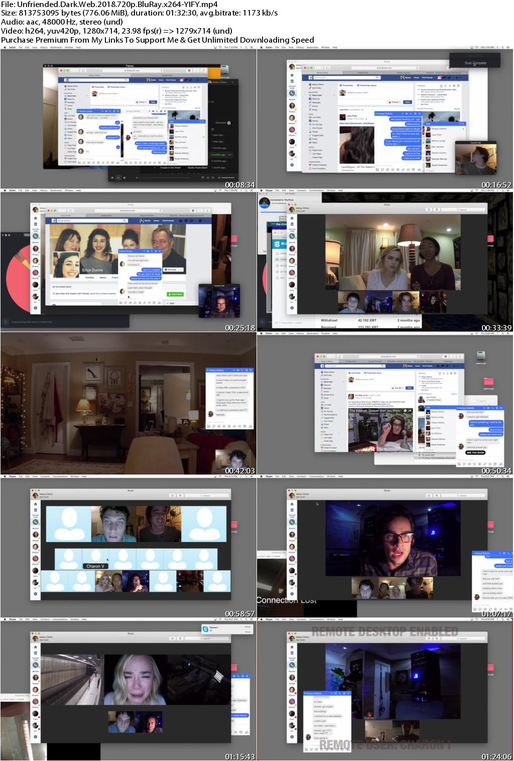 Unfriended Dark Web (2018) 720p BluRay x264-YIFY