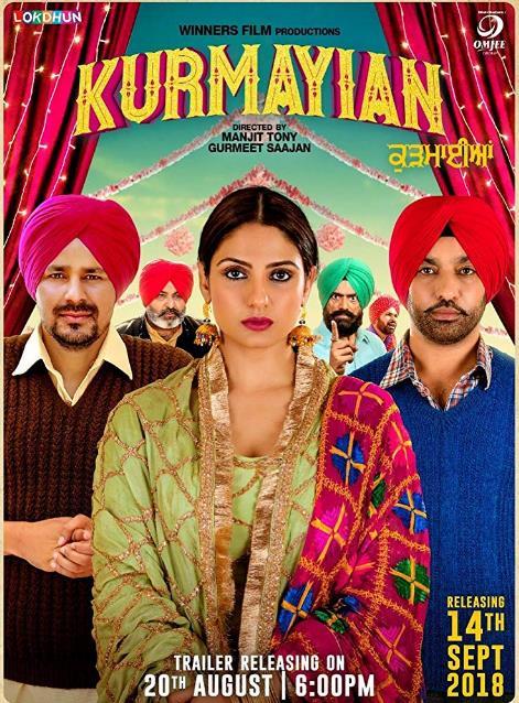 Kurmaiyan (2018) Punjabi HDTV x264 700MB-DLW