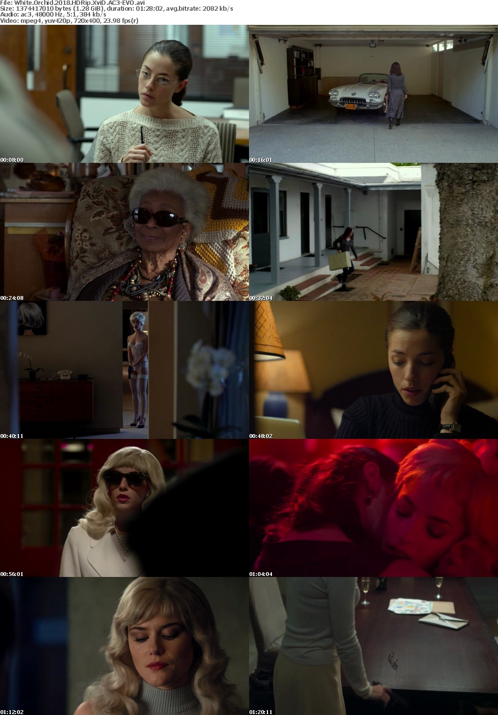 White Orchid (2018) HDRip XviD AC3-EVO
