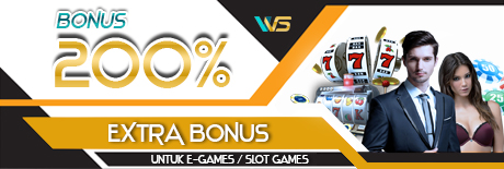 klaim extra bonus 200% e-games