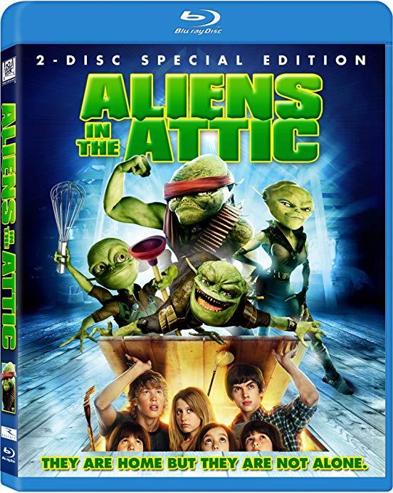 Aliens In The Attic 2009 720p BluRay H264 AAC-RARBG