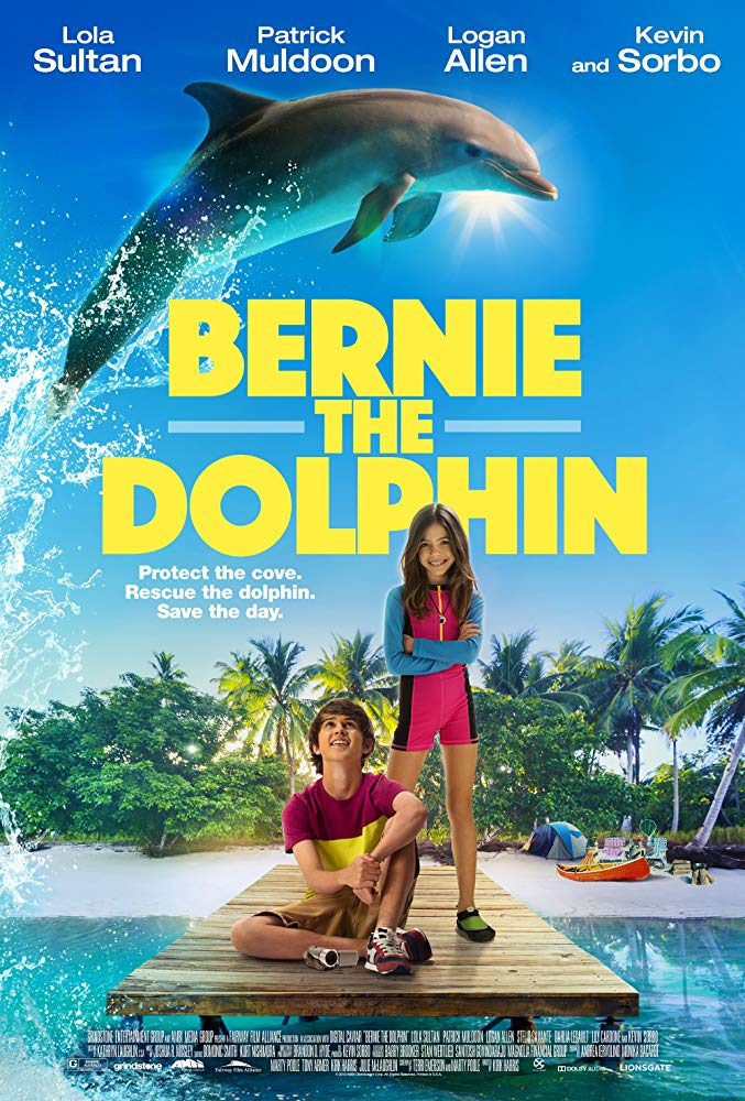 Bernie The Dolphin 2018 720p WEB-DL XviD AC3-FGT