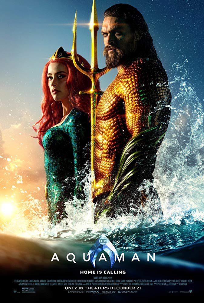 Aquaman 2018 Movies HD Cam x264 Clean Audio New Source with Sample