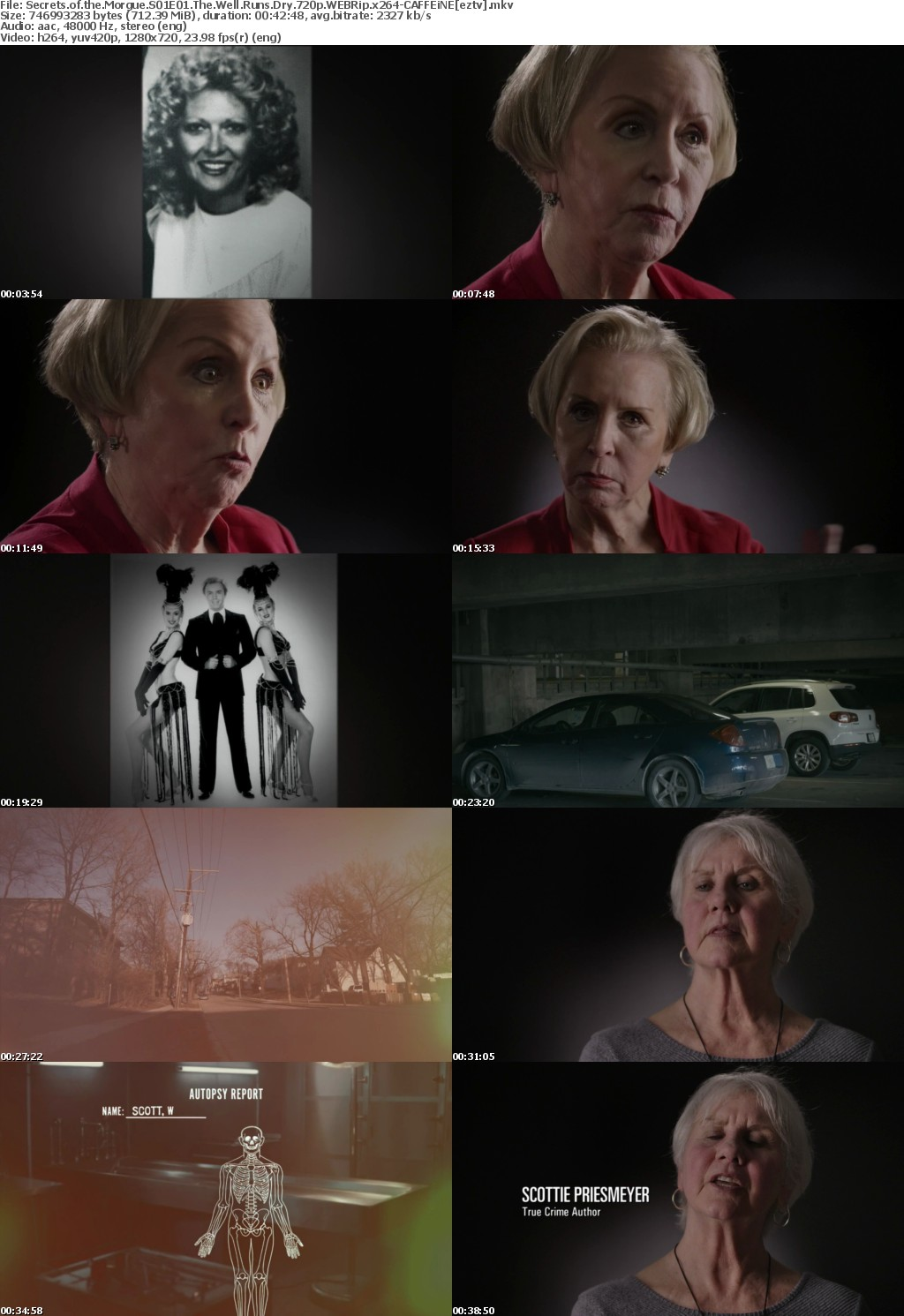 Secrets of the Morgue S01E01 The Well Runs Dry 720p WEBRip x264-CAFFEiNE
