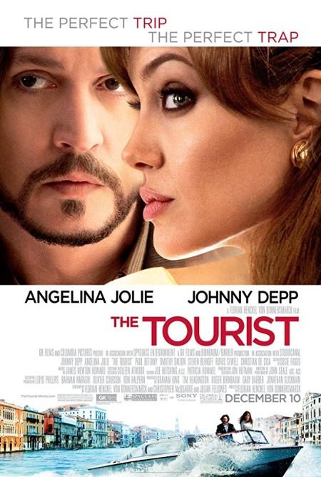 The Tourist 2010 720p BluRay x264 Dual Audio Hindi DD 5 1 - English 2 0 ESub MW
