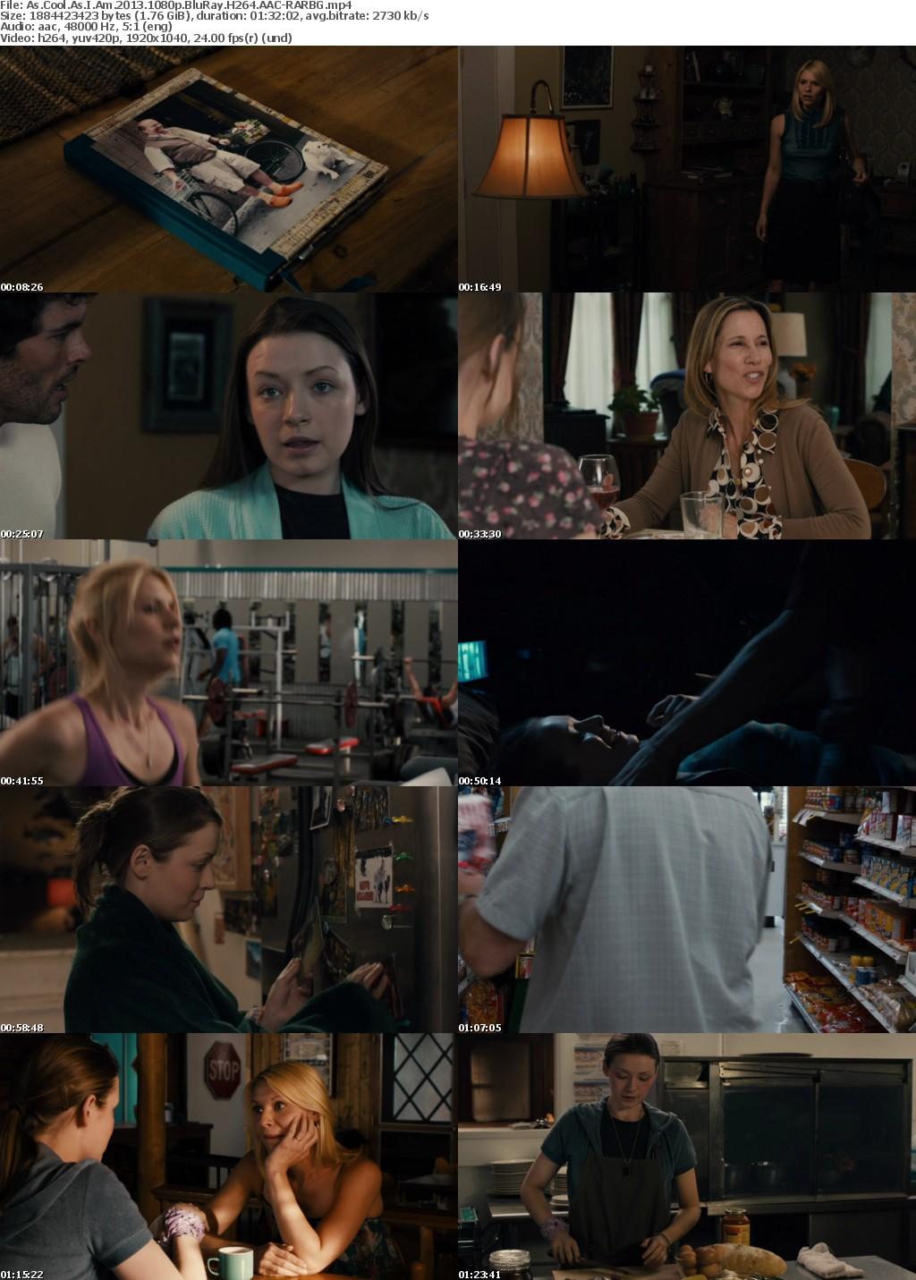 As Cool As I Am (2013) 1080p BluRay H264 AAC-RARBG