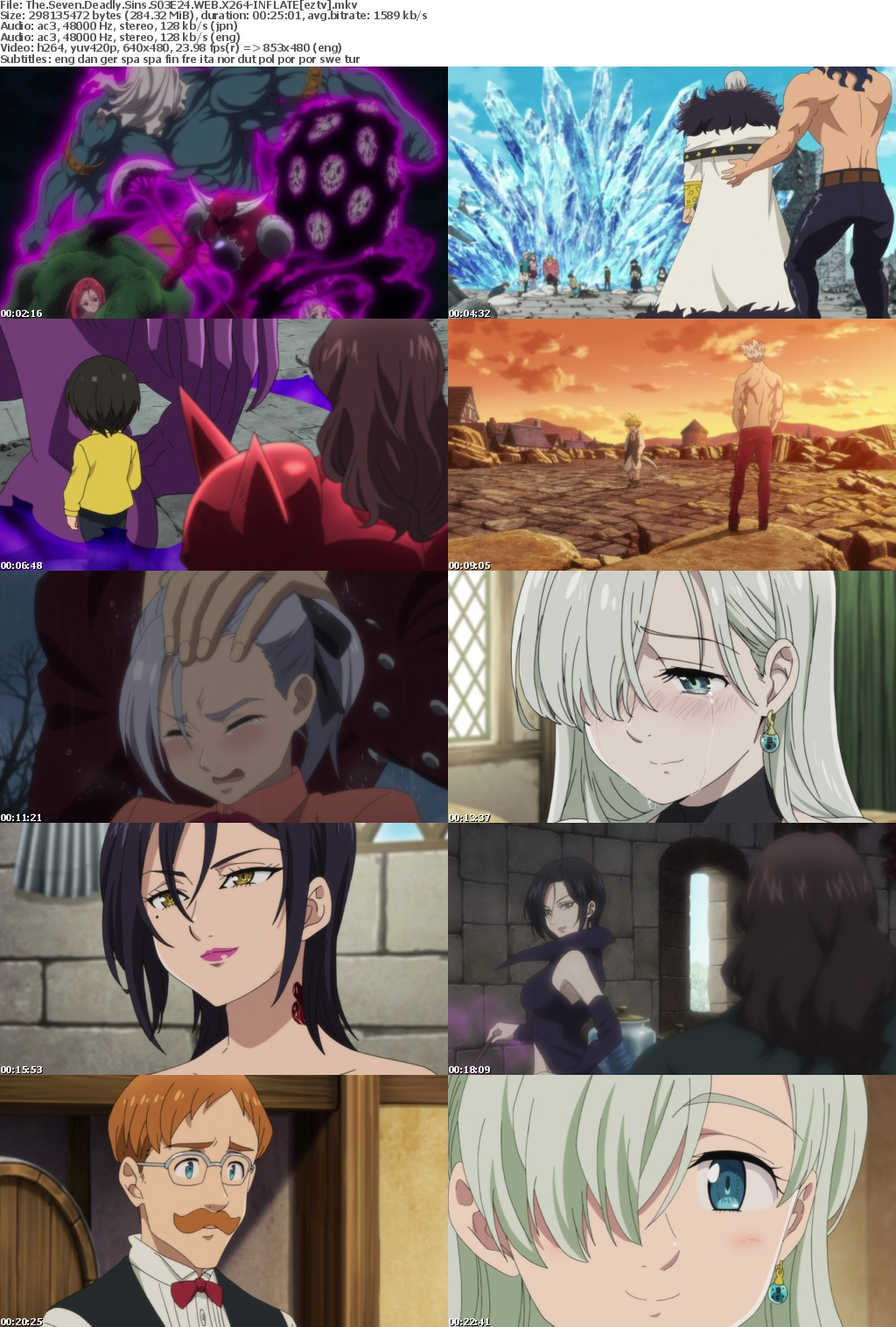 The Seven Deadly Sins S03E24 WEB X264-INFLATE