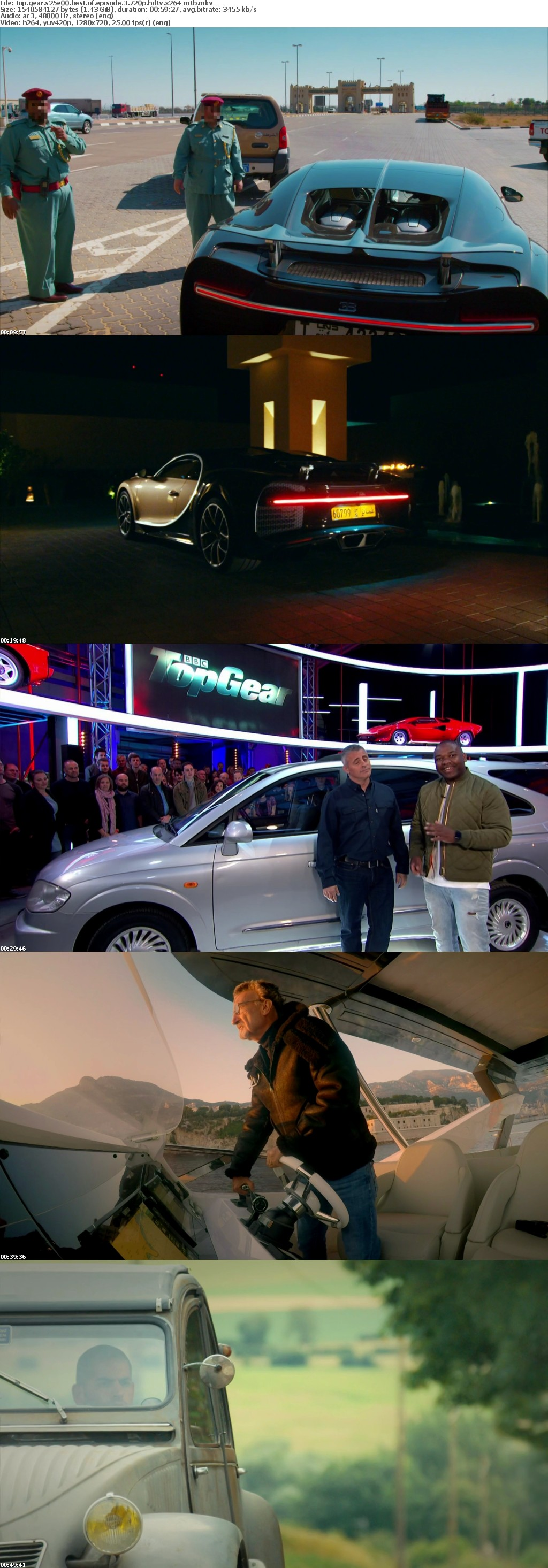 Top Gear S25E00 Best Of Episode 3 720p HDTV x264-MTB