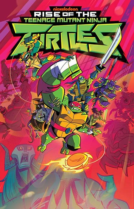 Rise of the Teenage Mutant Ninja Turtle S01E09b S01E10a 720p HDTV x264-W4F