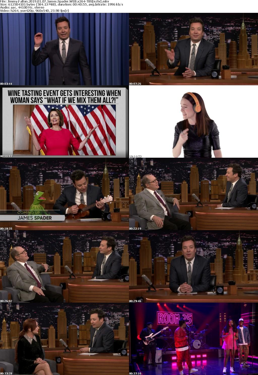 Jimmy Fallon (2019) 01 07 James Spader WEB x264-TBS