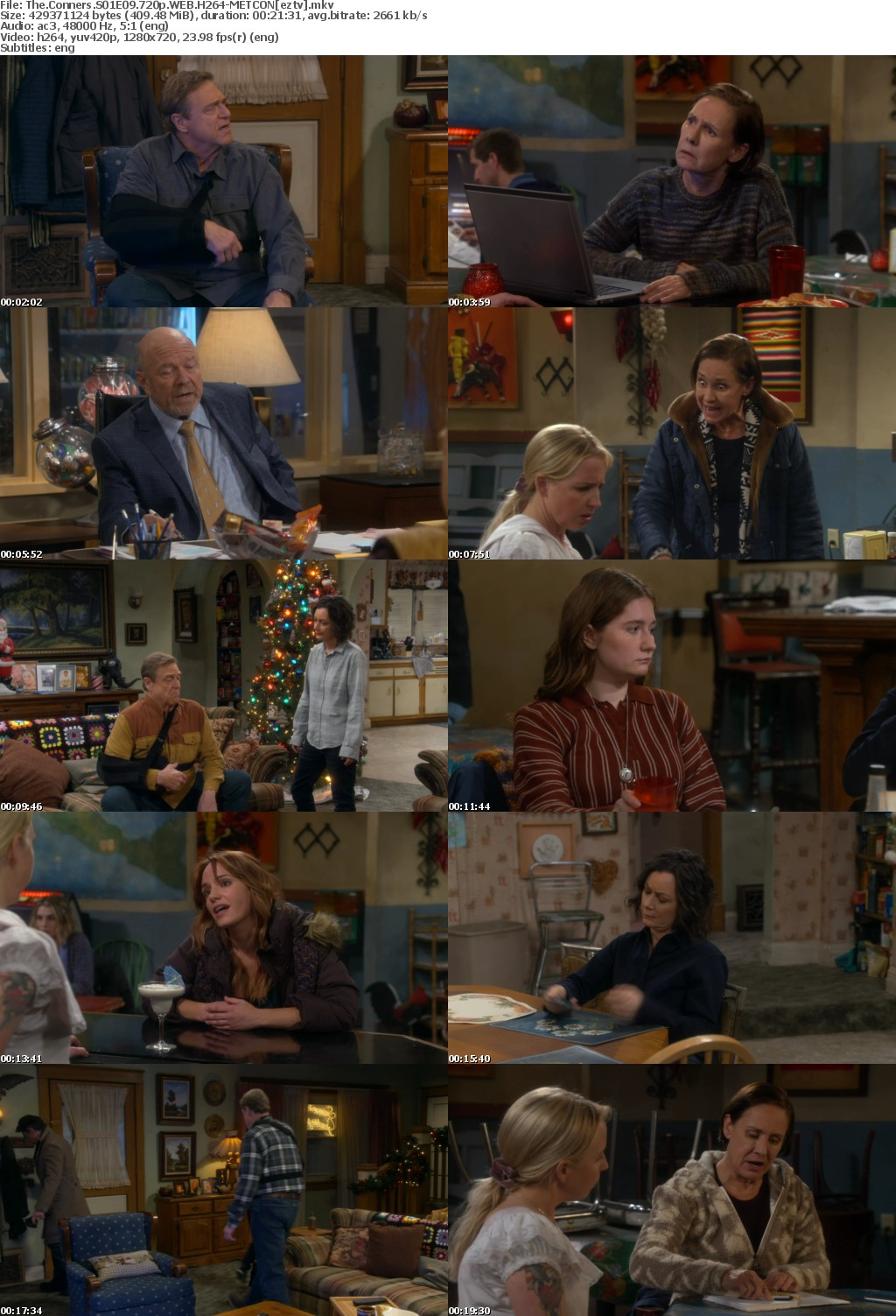 The Conners S01E09 720p WEB H264-METCON