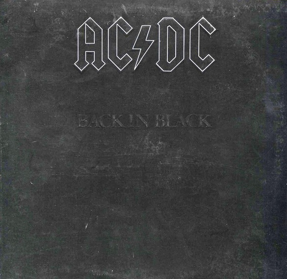 AC DC - Back in Black (1980) [24 96 FLAC] vinyl