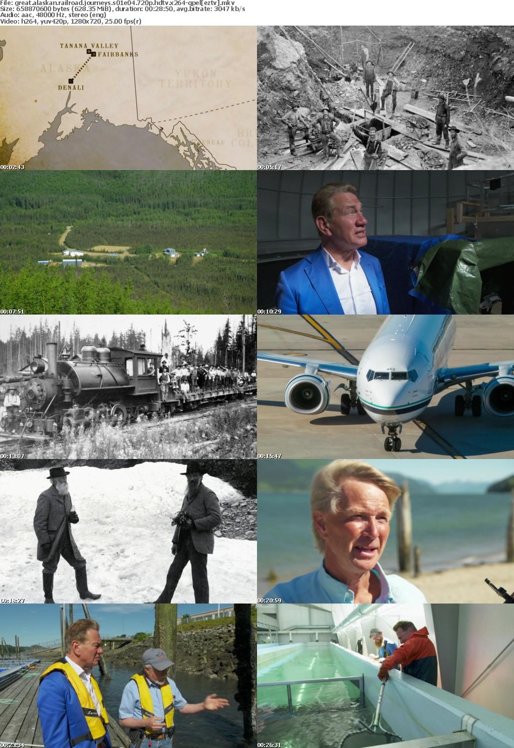 Great Alaskan Railroad Journeys S01E04 720p HDTV x264-QPEL