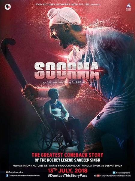 Soorma (2018) Hindi 720p BluRay x264 AAC 5 1 ESubs -UnknownStAr Telly