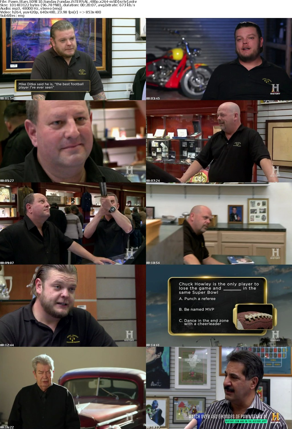 Pawn Stars S09E10 Sunday Funday iNTERNAL 480p x264-mSD