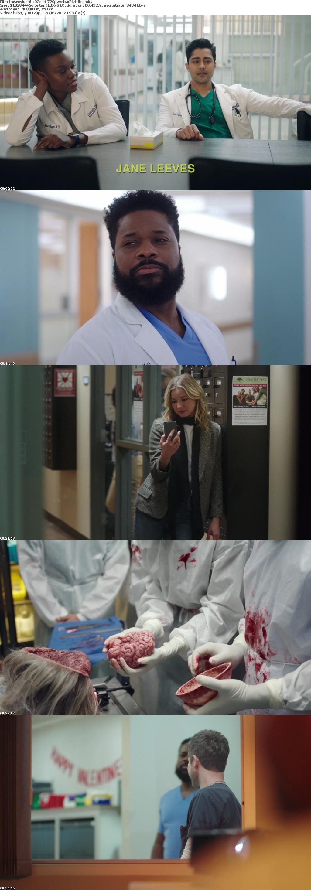 The Resident S02E14 720p WEB x264-TBS