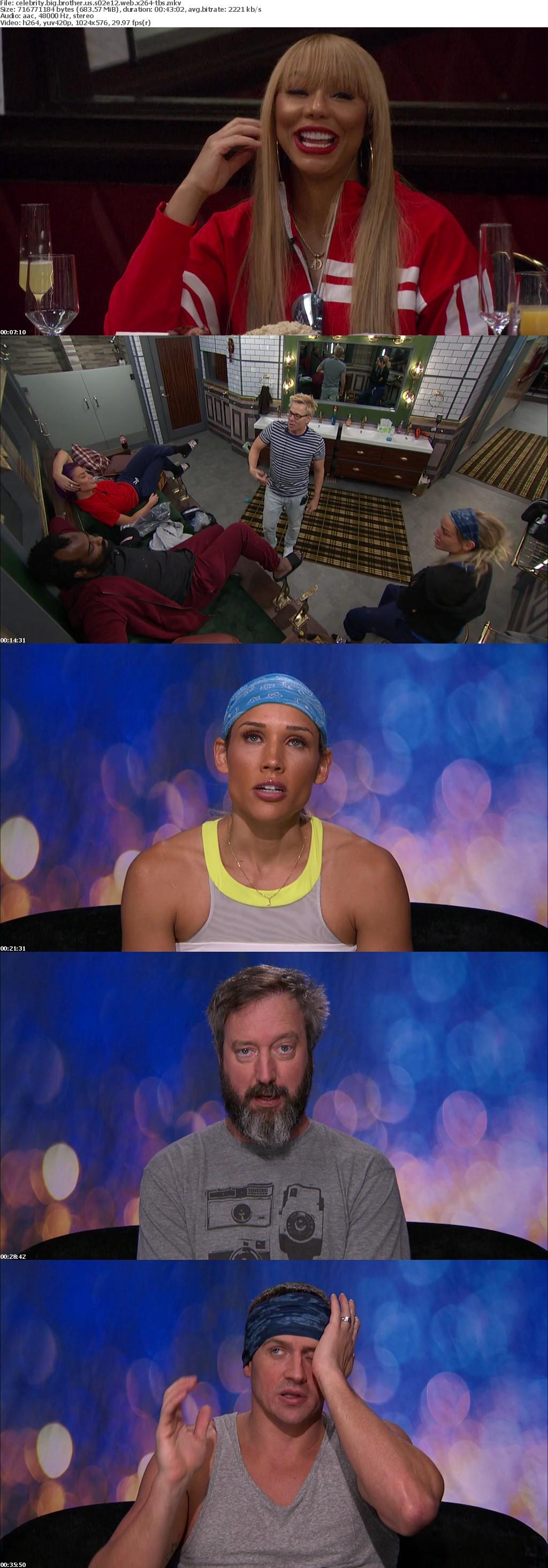 Celebrity Big Brother US S02E12 WEB x264-TBS
