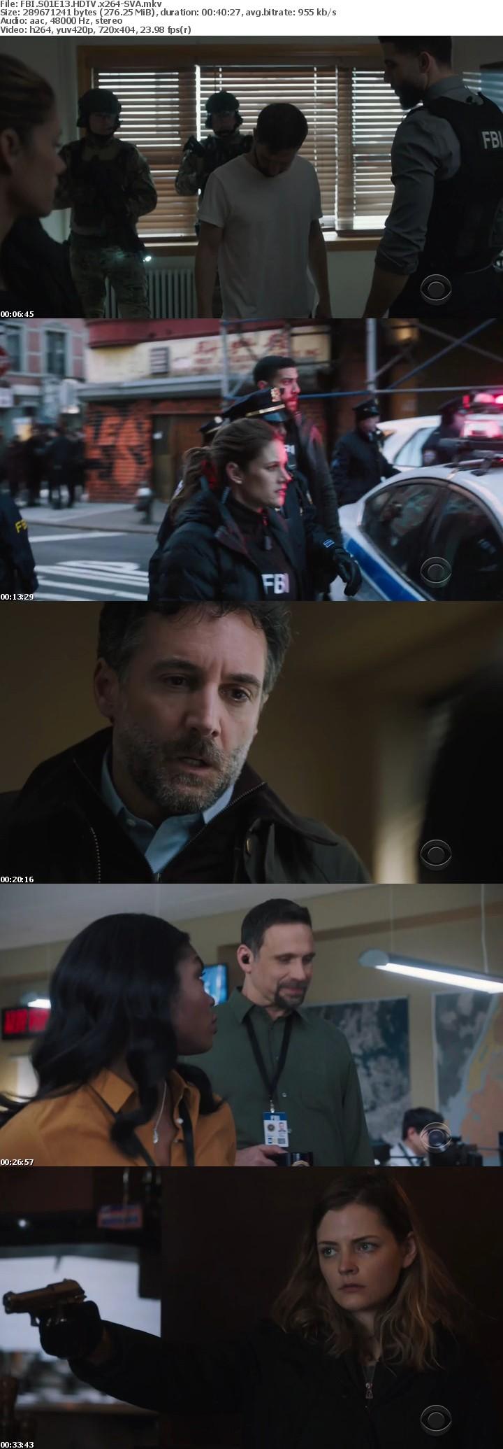 FBI S01E13 HDTV x264-SVA