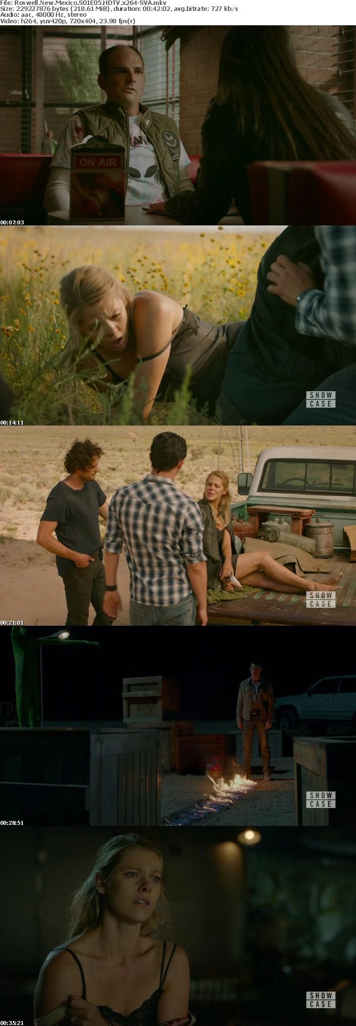 Roswell New Mexico S01E05 HDTV x264-SVA