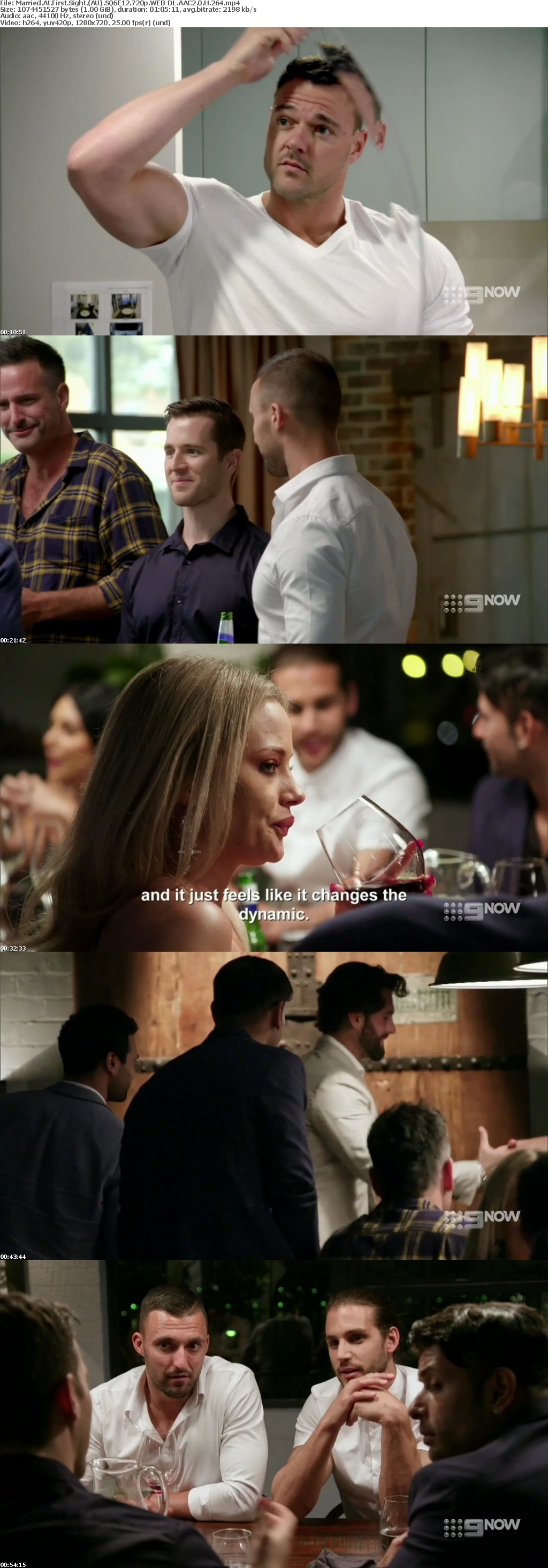 Married At First Sight (AU) S06E12 720p WEB-DL AAC2 0 H 264
