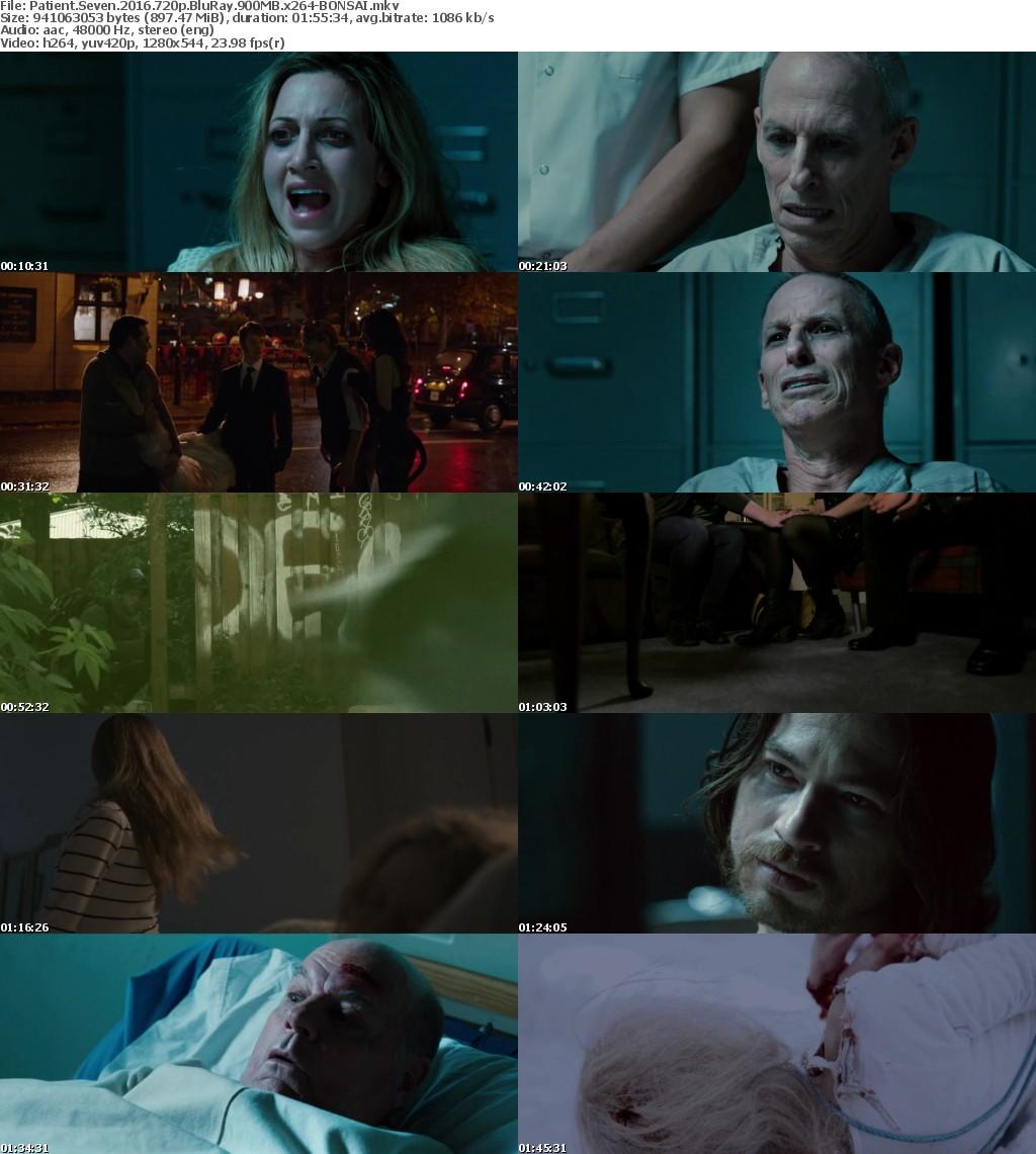 Patient Seven (2016) 720p BluRay 900MB x264-BONSAI