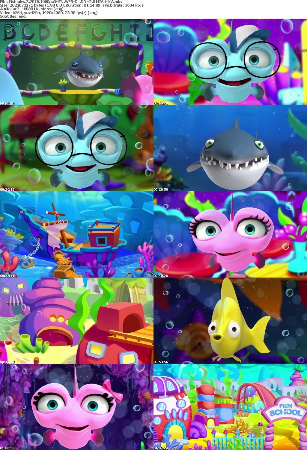 Fishtales 3 (2018) 1080p AMZN WEBRip DDP2.0 x264-iKA