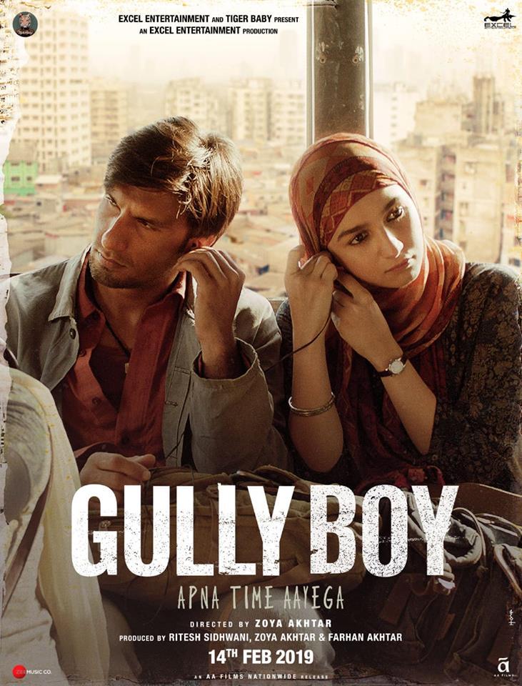 Gully Boy 2019 Hindi (Cleaned) PreDVDRip x264 AC3 [Team DRSD]