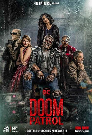 Doom Patrol S01E01 Pilot 720p WEBRip HEVC x265-RMTeam