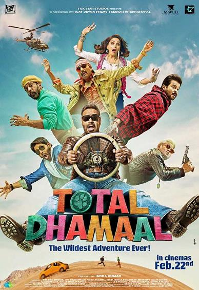 Total Dhamaal (2019) Hindi 720p Pre-CAMRip x264-DLW