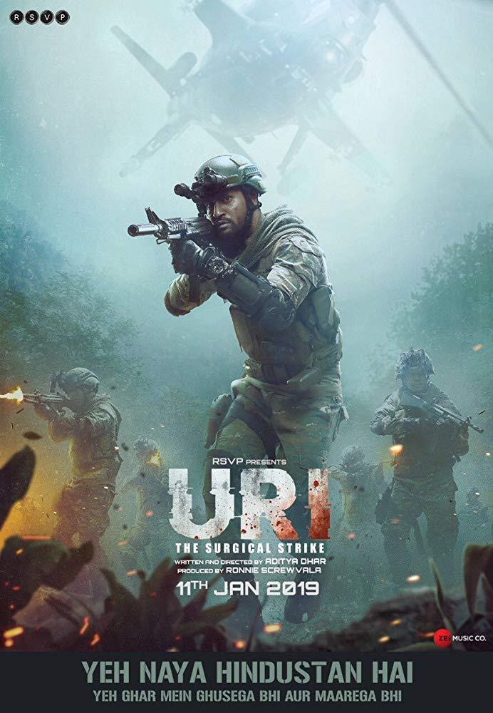 Uri The Surgical Strike 2019 Hindi 720p WEB-DL x264 [MW]