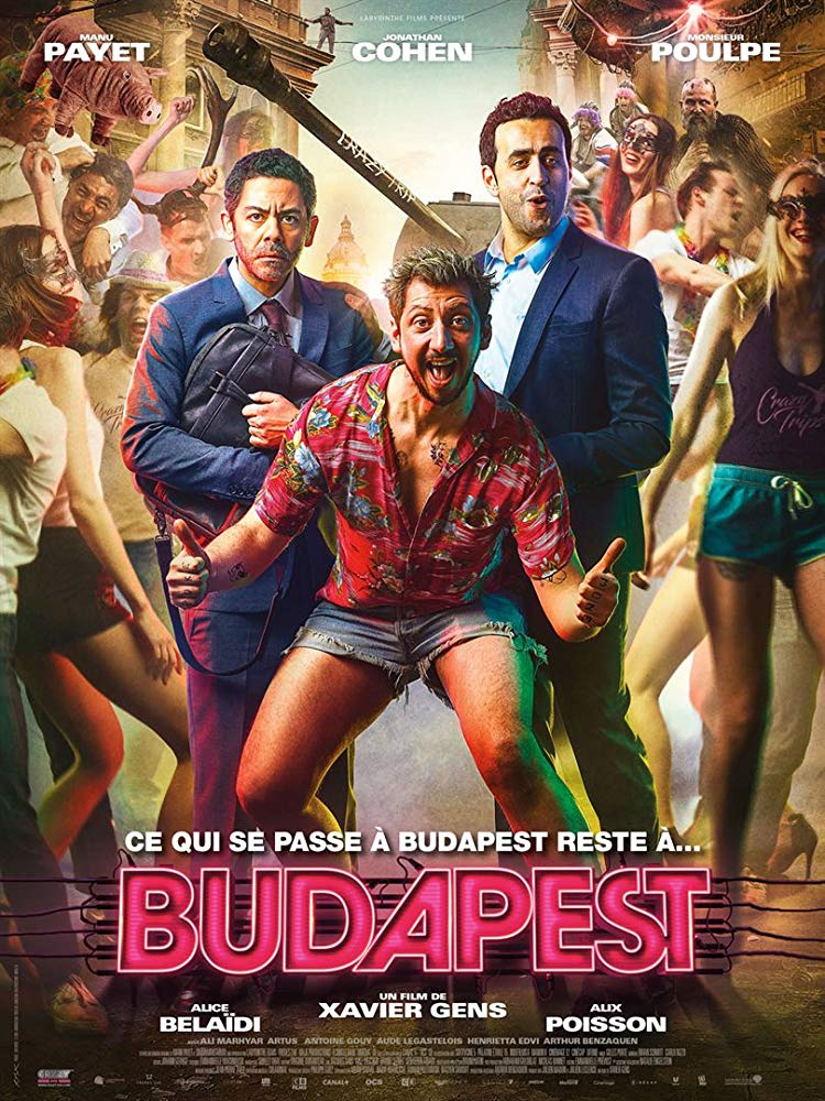 Budapest 2018 English 720p HDRip x264 ESubs 850MB