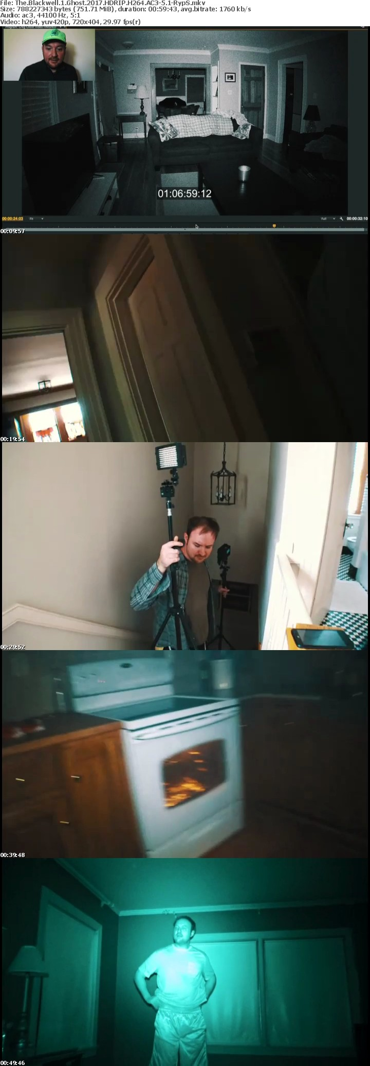 The Blackwell 1 Ghost 2017 HDRIP H264 AC3-5 1-RypS