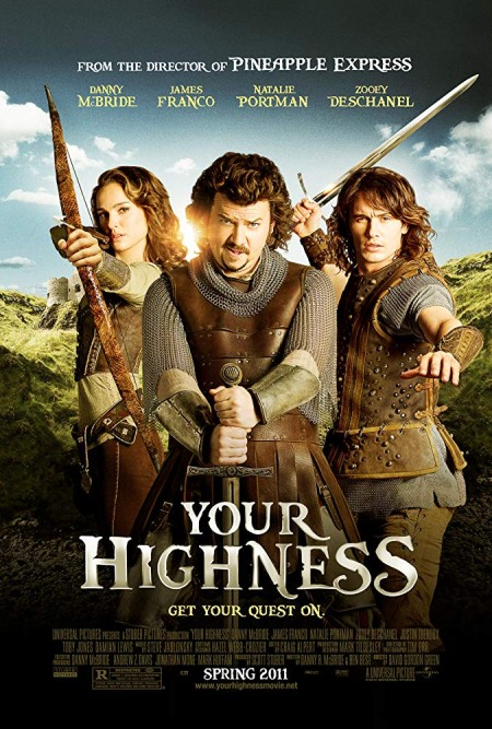 Your Highness (2011) UNRATED 720p BluRay H264 AAC-RARBG