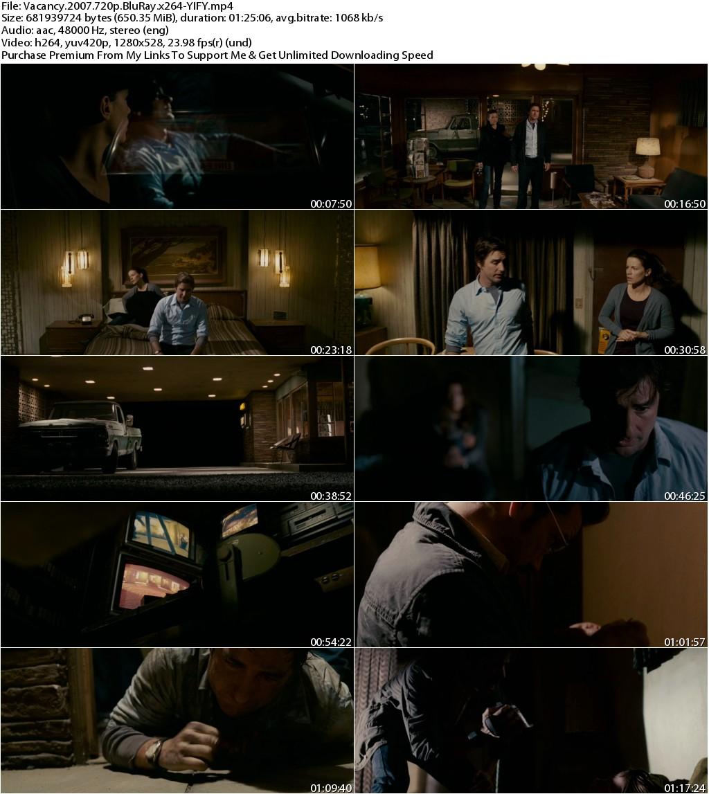 Vacancy (2007) 720p BluRay x264-YIFY