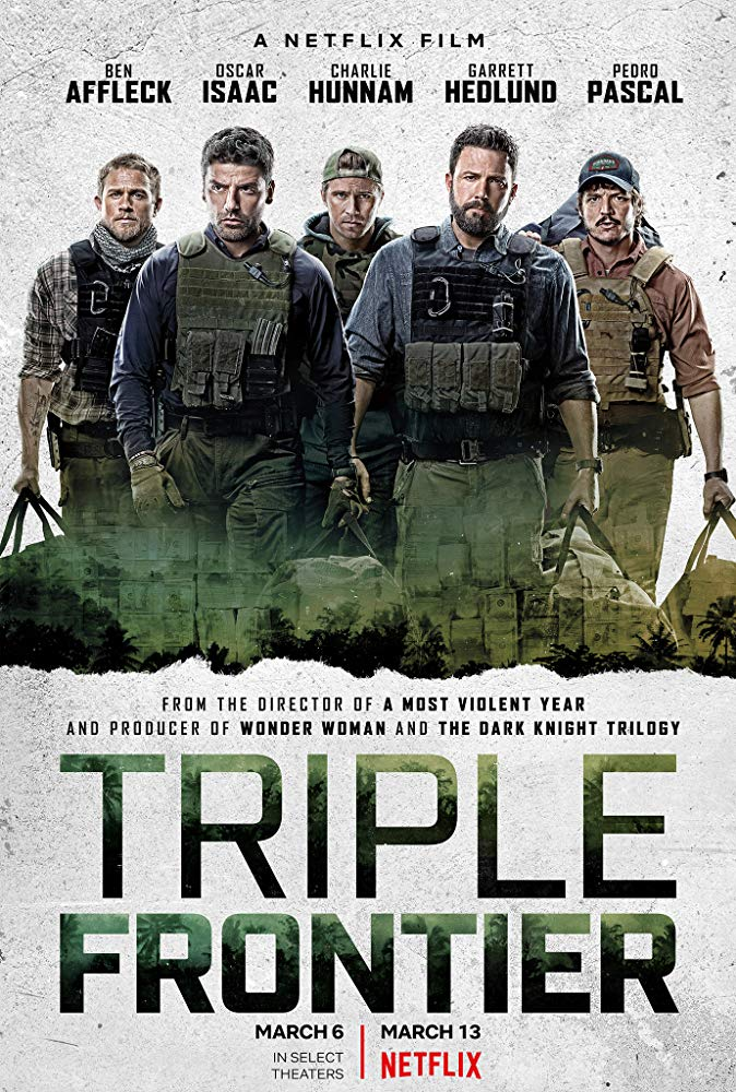 Triple Frontier 2019 HDRip AC3 X264-CMRG