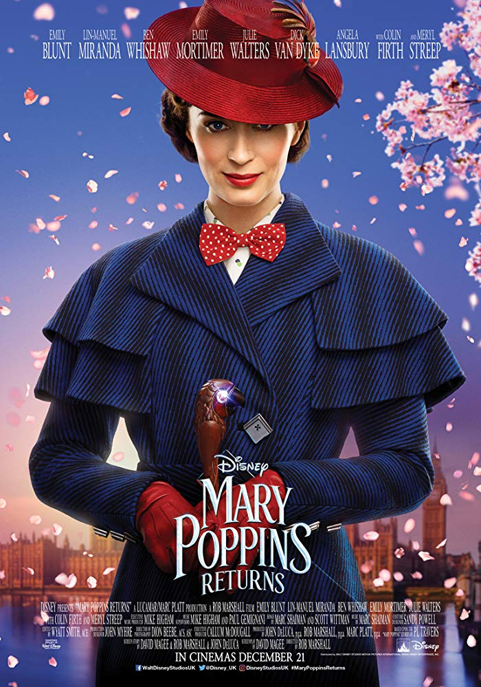 Mary Poppins Returns 2018 1080p BluRay x264 DTS 5 1 MSubS - Hon3yHD