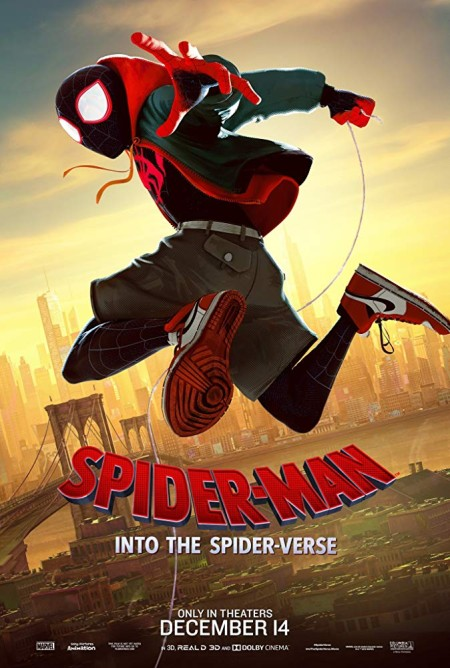 Spider-Man Into The Spider-Verse 2018 1080p BluRay x264 Dual Audio Hindi Org DD 5 1 - English DD 5 1 ESub MW