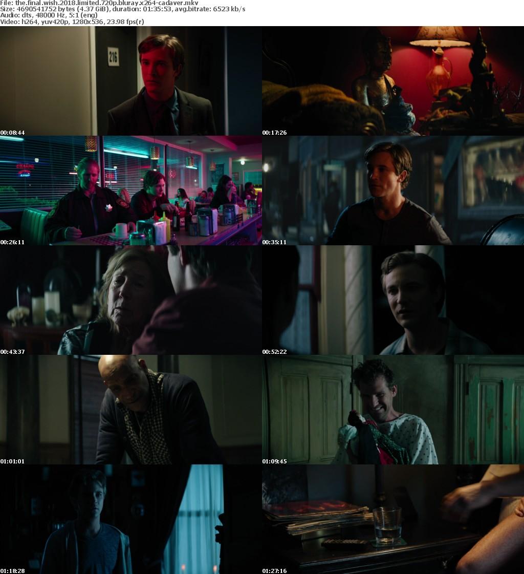 The Final Wish 2018 LiMiTED 720p BluRay x264-CADAVER