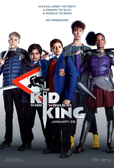The Kid Who Would Be King 2019 BRRip XviD MP3-XVID