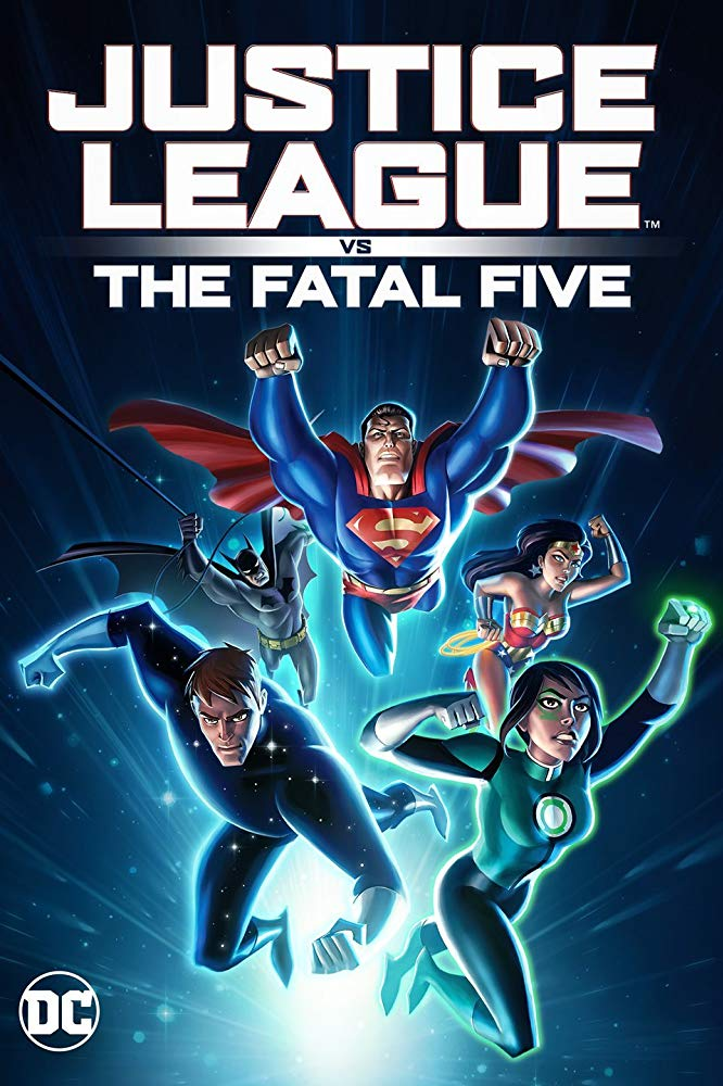 Justice League vs the Fatal Five 2019 BRRip x264 AAC-SSN