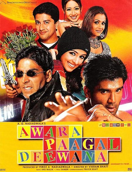 Awara Paagal Deewana (2002) Hindi - 720p WEB-DL - x264 - AC3 2.0 -Sun George (Requested)