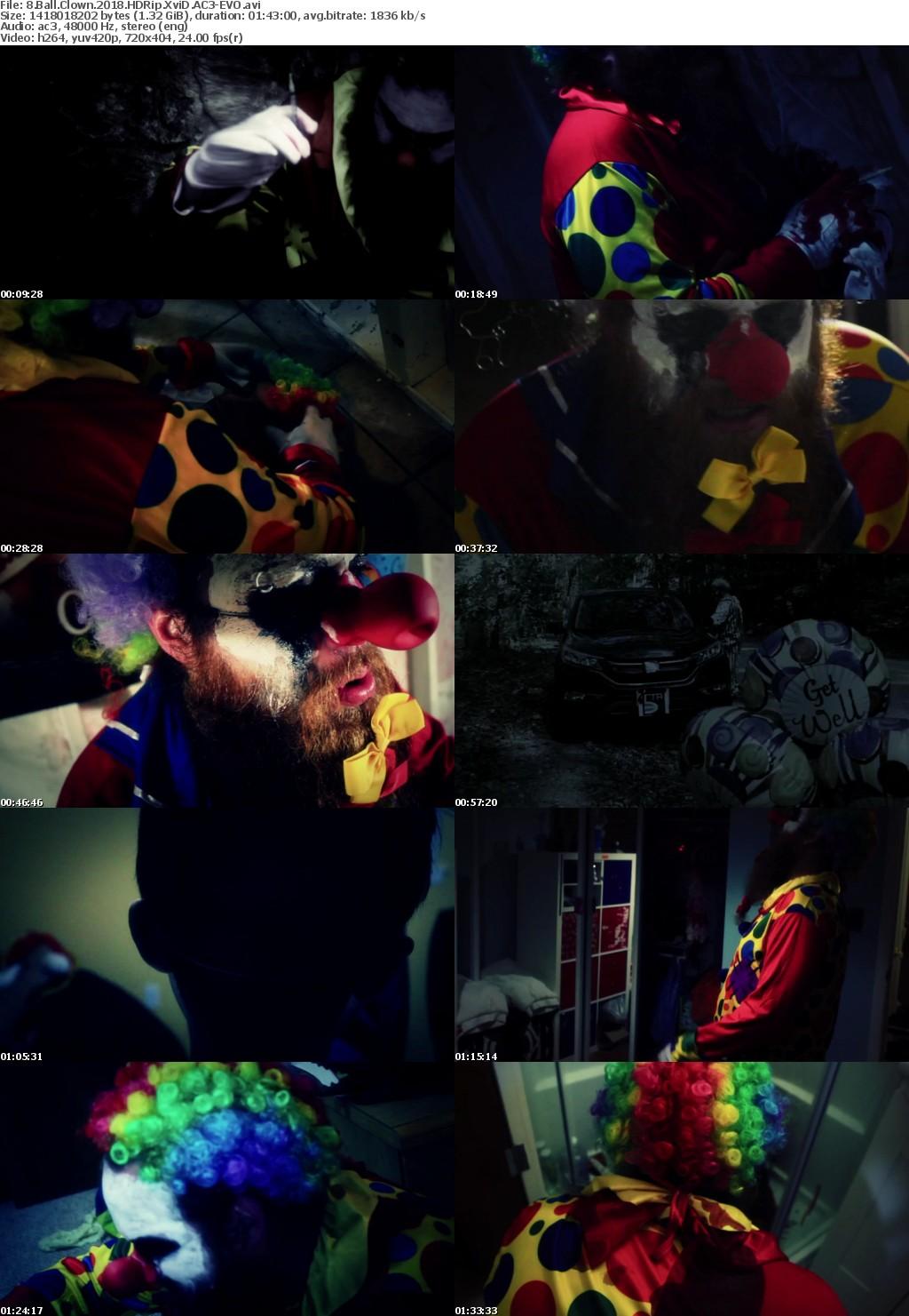 8 Ball Clown (2018) HDRip XviD AC3-EVO